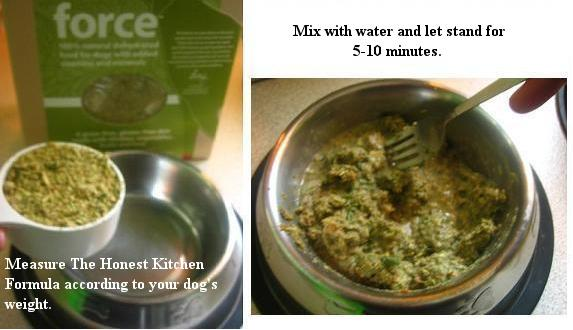 honest kitchen dog food. the honest keen organic dehydrated dog